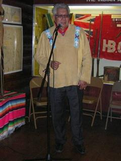 MC Roy Louis, Chair of the Buffalo Nations Luxton Museum