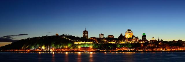 Quebec City Skyline