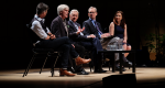 Panel discussion with Rory Holland, Peter Robinson (David Suzuki Foundation CEO), Preston Manning, Jeffrey Greenman (Regent College President) and Katharine Hayhoe at Earthkeeping: A Climate for Change.
