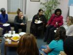 I of C's Ottawa office has become the scene of lively conversation,